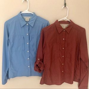 Exofficio Travel Long Sleeve Shirt bundle